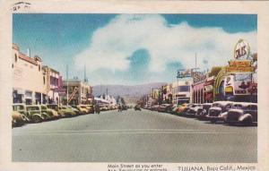 Main Street , Tijuana , Mexico , PU-1946