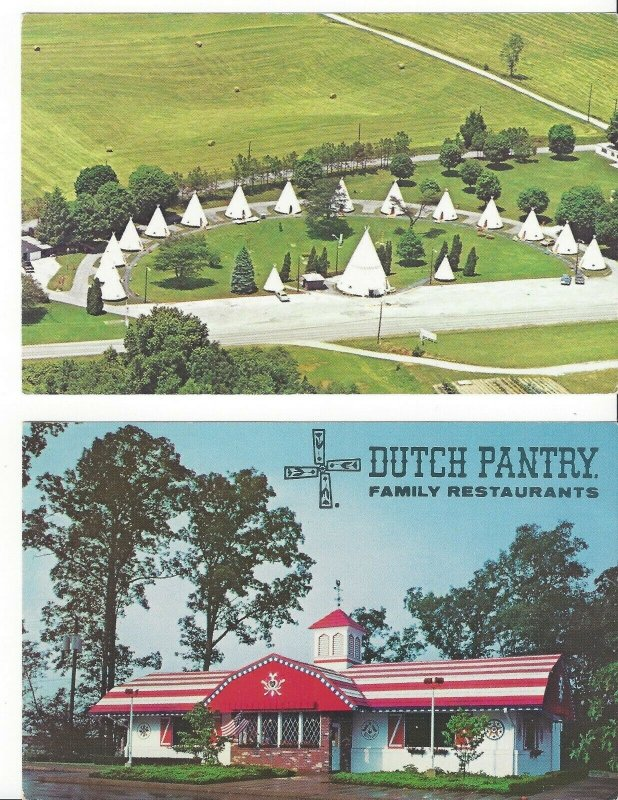 Wigwam Village Motels 2 Dixie HWY Cave City Kentucky Mammoth Cave Roger Proffitt