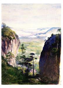 Sri Lanka Ceylon Mountain Gorge Near Dambulla 1989