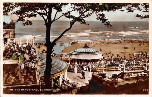 Scarborough The Spa Bandstand Promenade Beach 1937