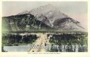Cascade Mountain Banff, Alberta Canada Unused