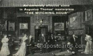 The witching hour Opera Postcard Postcards  The witching hour