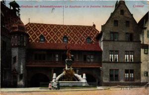 CPA AK Kaufhaus m Schwendibrumónnen Le Kaufhaus et la fontaine Schwendi(740253)