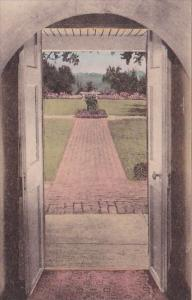 Archway Showing View Of Monticello In The Distance Charlottesville Virginia H...