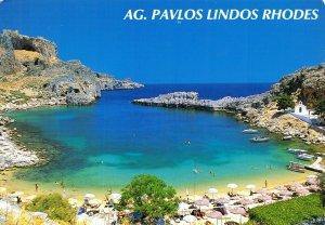 Greece Postcard, AG. Pavlos Lindos, Rhodes FJ8