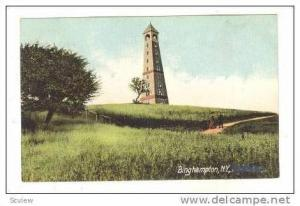 Observation Tower, Binghampton, New York, pre-1907