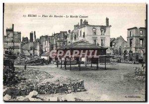 Reims Place Marche Le Marche Couvert Miltiaria