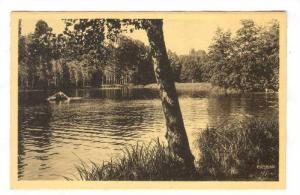 BOURGOIN (Isere), France, 1910-30s Etang de Rosieres