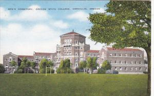 Oregon Corvallis Men's Dormitory Oregon State College 1945