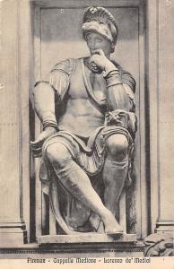 Italy Firenze - Cappelle Medicee, Lorenzo de' Medici, Sculpture