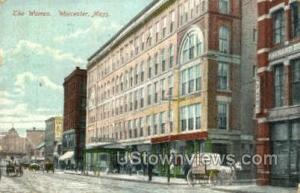 The Warren Worcester MA 1908