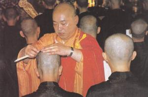 Ordination of Buddist Monks , 50-70s