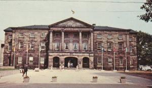 Exterior,Provincial Building,Charlottetown,Prince Edward Island,Canada,40-60s