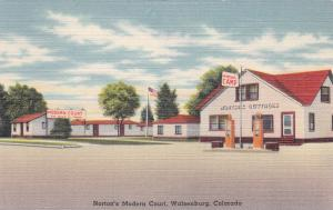 WALSENBURG , Colorado , 30-40s , Norton's Modern Court