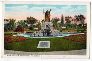 King's Fountain, Washington Park, Albany NY