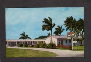 FL Grove Motel Homestead Florida Postcard nr Everglades D L Craner