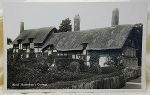 Anne Hathaway's Cottage Stratford upon Avon 1936 England Vintage Postcard