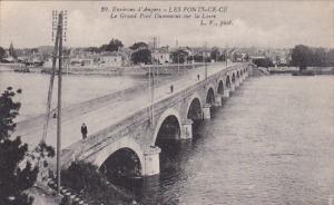LES PONTS DE CE, Maine Et Loire, France, 1900-1910's; Environs D'Angers, Le G...