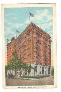 Arlington Hotel, Washington, D.C., PU-1928