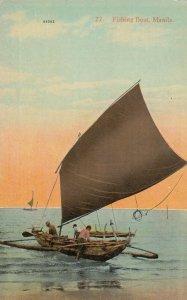 MANILA , Philippines , 00-10s ; Fishing boat