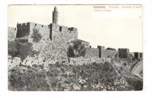 Jerusalem, Israel , 1890s , Citadel of Zion