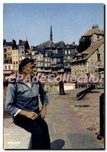 Modern Postcard Honfleur Le Coin Du Pecheur
