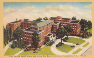 North Carolina Winston Salem North Carolina Baptist Hospital & Bowman Gray Sc...