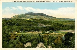 VT - Camel's Hump or Crouching Lion from the East