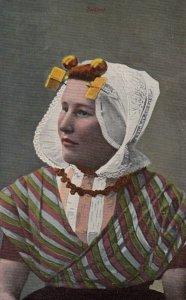 ZEELAND, Netherland, 1900-1910's; Female Portrait