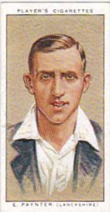 Player Vintage Cigarette Card Cricketers 1934 No 22 E Paynter