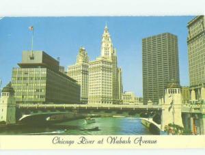 Pre-1980 BRIDGE SCENE Chicago Illinois IL HJ0643
