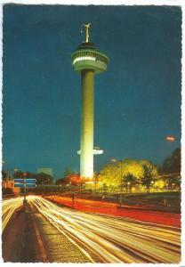 Netherlands, Rotterdam, Euromast, 1968 used Postcard