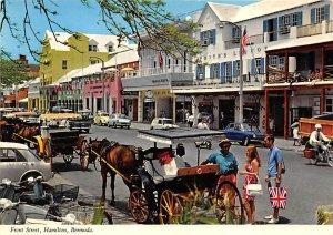 Front Street  Hamilton Bermuda Island Unused