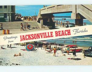 Unused Pre-1980 GREETINGS FROM JACKSONVILLE BEACH Jacksonville Florida FL M6658