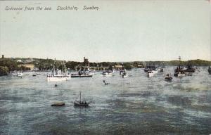 Sweden Stockholm Harbor Entrance From The Sea