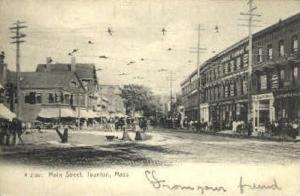 Main St. Taunton MA 1909
