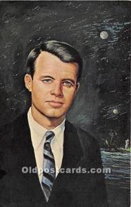 Robert Kennedy Postcard President Bobby Kennedy Postcard Artist Morris Katz