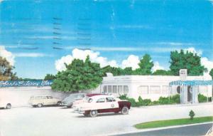Little Rock Arkansas Hanks Dog House Street View Vintage Postcard K90892