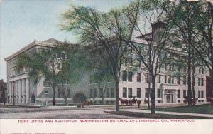 Home Office, Northwestern National Life Insurance Company , MINNEAPOLIS , Min...