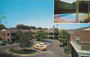 South Carolina Columbia Town House Motor Hotel Swimming Pool