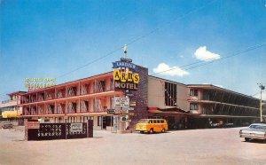 LAKEVIEW ARMS MOTEL Bijou, CA LAKE TAHOE Roadside c1960s Rare Vintage Postcard