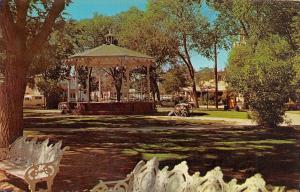 ALBUQUERQUE, NM New Mexico  BANDSTAND on OLD TOWN PLAZA  1970 Chrome Postcard