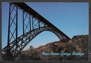 West Virginia, New River Gorge Bridge, unused