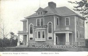 William E. Frost School Westford Center MA Unused