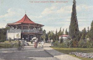 Johannesburg Jouberts Park Kiosk Postcard