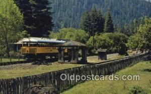 The Skunk, California Western Railroad Fort Bragg, CA, USA Fort Bragg, CA, US...