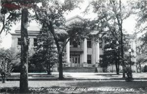 Fitzgerald Georgia~Ben Hill Co Court House~1940s Postcard RPPC