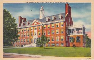 Martha Jefferson Hospital Charlottesville Virginia