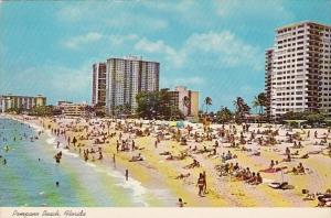 Florida Pompano Beach Is Typical Of The 1'500 Miles Of Florida Coastline