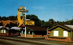California Redding Monterrey Motel